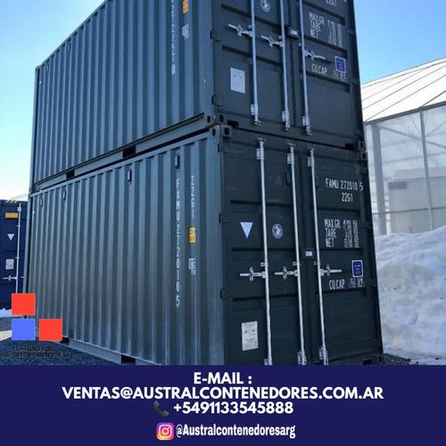 contenedores maritimos containers 20´ bs. as. necochea