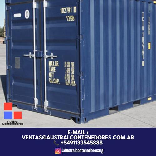 contenedores maritimos containers 20´ buenos aires interior