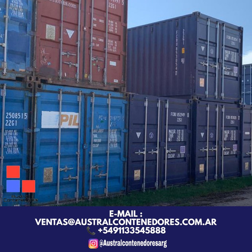 contenedores maritimos containers 20´ capital federal