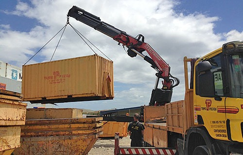 contenedores maritimos containers 20´ la pampa