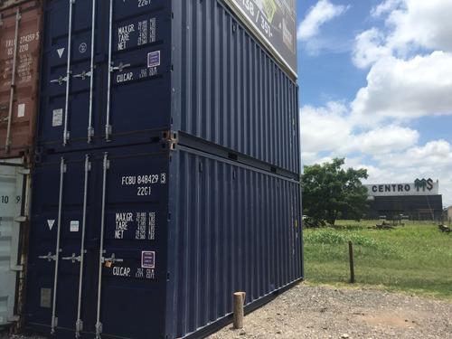 contenedores maritimos containers 20´ seco bahia blanca