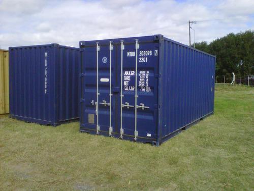 contenedores maritimos containers 20´ seco cañuelas