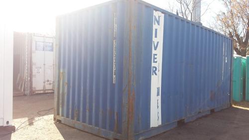 contenedores maritimos containers 20´ seco lujan