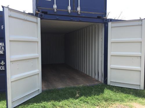contenedores maritimos containers 20´ seco obrador neuquen