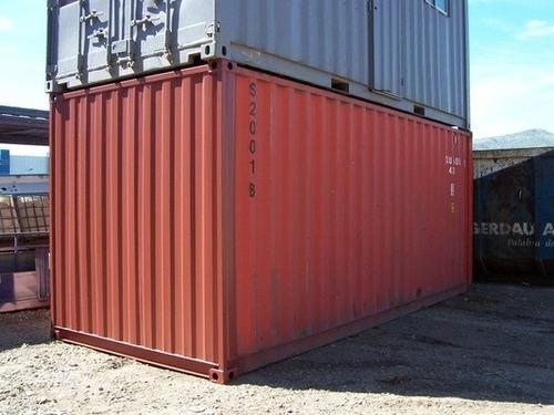 contenedores maritimos containers 20´ seco obrador tigre