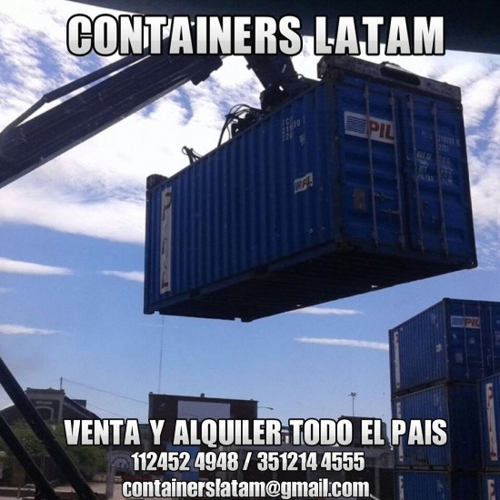 Venta Y Alquiler De Contenedores De 20 Y 40 Pies: Containers 20 Y 40 Pies