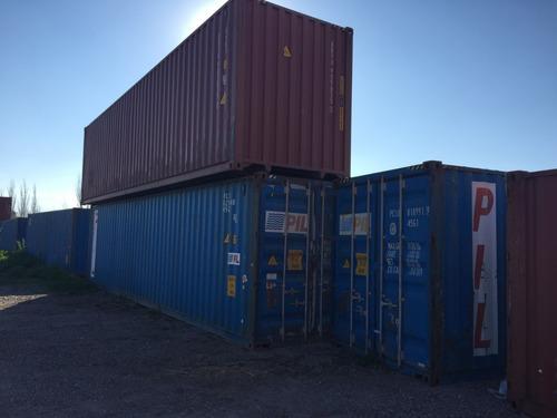 contenedores marítimos containers nacionalizados 40' tigre