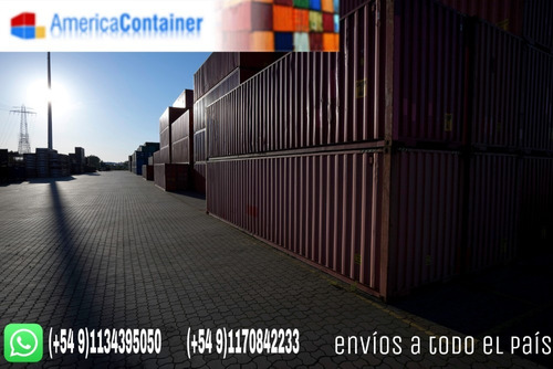 contenedores maritimos containers nacionalizados x 20 y 40.