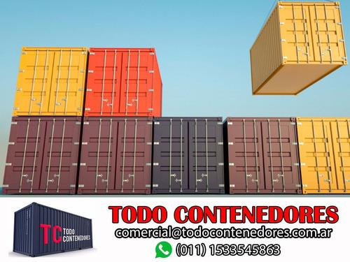 contenedores maritimos containers obrador 20 usado catamarca
