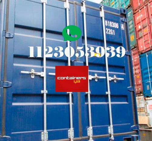 contenedores maritimos containers obrador 20 usado mendoza