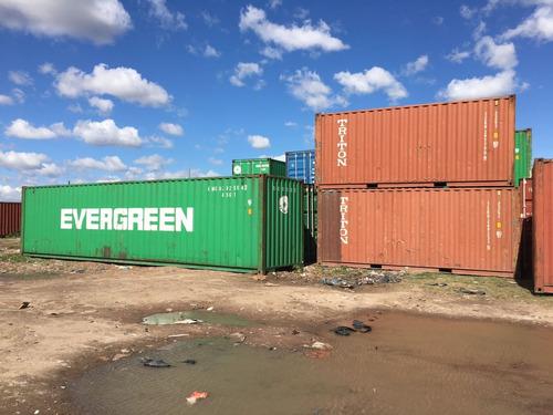 contenedores maritimos containers obrador 40 chaco