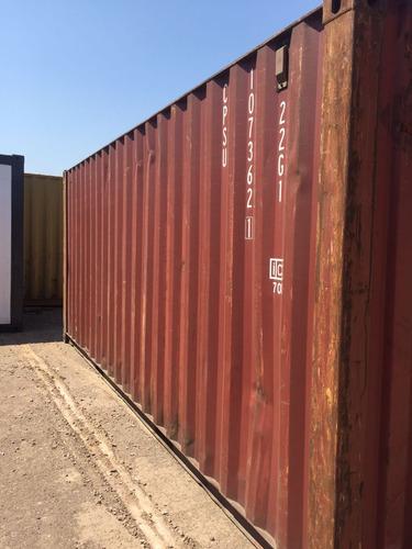 contenedores maritimos containers obrador 40 pies san juan