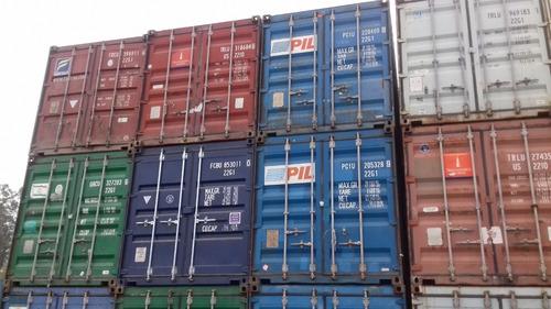 contenedores marítimos containers usado 20 /40 pies misiones
