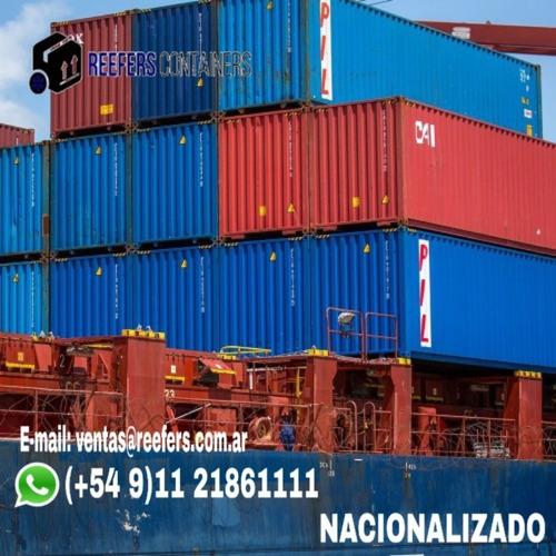 contenedores marítimos containers usado 20 pies córdoba