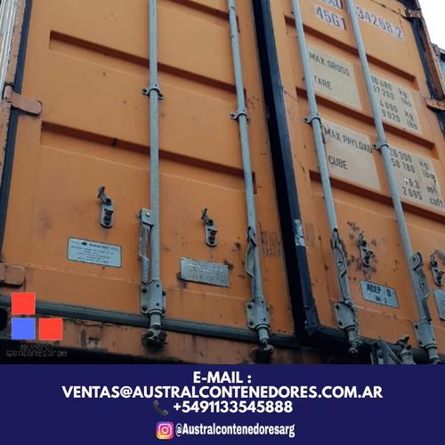 contenedores maritimos containers usados 20´ carmen de areco
