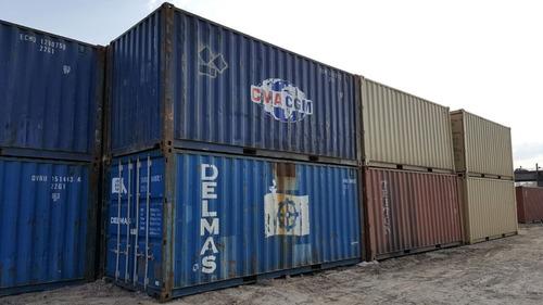 contenedores maritimos containers usados 20´ mar de la pampa