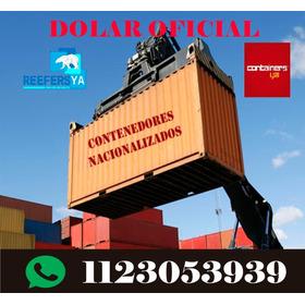 Contenedores Marítimos Containers Usados 20 Pies