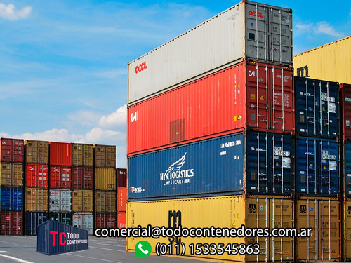contenedores maritimos containers usados 20 pies bs. as.