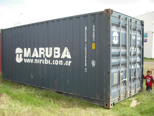 contenedores maritimos containers usados 20´ rio cuarto