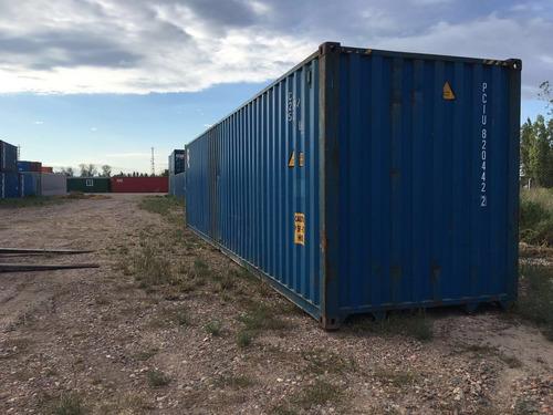 contenedores maritimos containers usados 40 nacionalizados