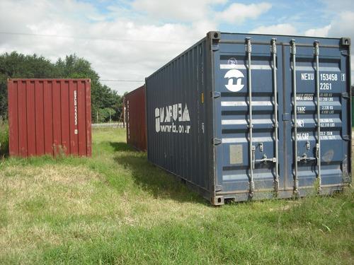 contenedores maritimos containers usados 40' rio cuarto