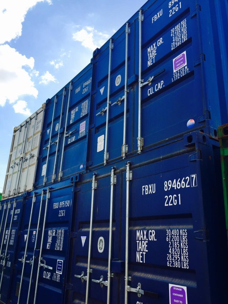 contenedores marítimos containers usados vacios 20 / 40