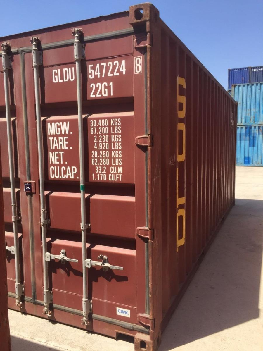contenedores  marítimos containers usados vacios 20 /40