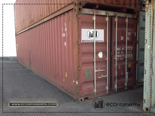 contenedores maritimos de 20 y 40 pies originales