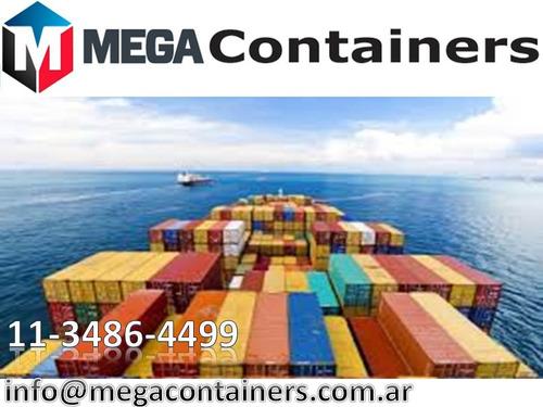 contenedores marítimos dpto 20/40 secos vta madryn