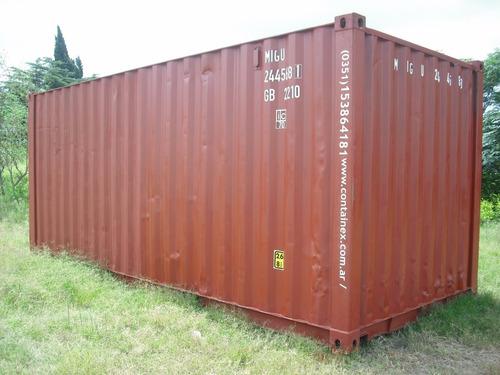 contenedores marítimos dpto 20/40 secos vta trelew