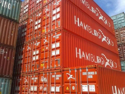contenedores maritimos en pesos 20/40 pies pico truncado