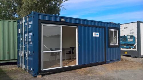 contenedores maritimos  habitables container obrador oficina