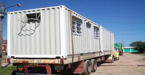 contenedores maritimos /  modulos