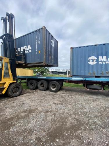 contenedores marítimos   nacionalizados 40 pies la bolsa