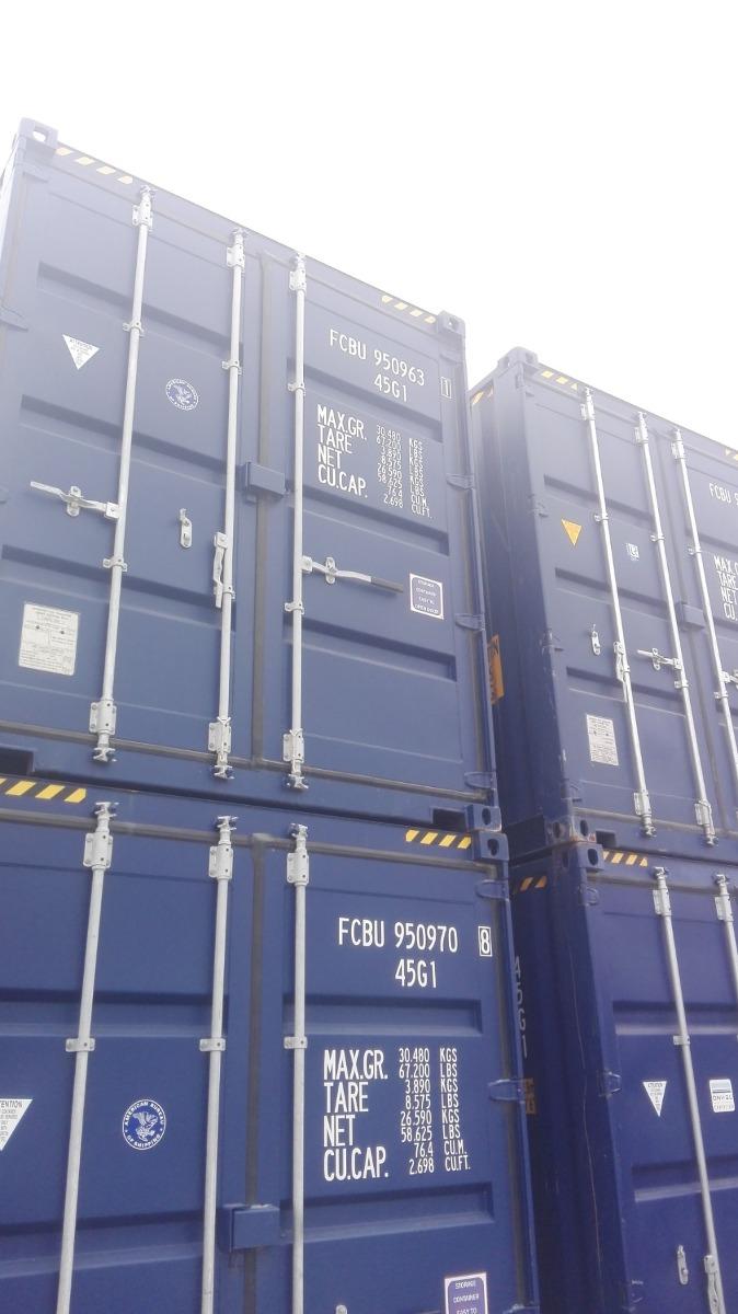 contenedores marítimos nuevos