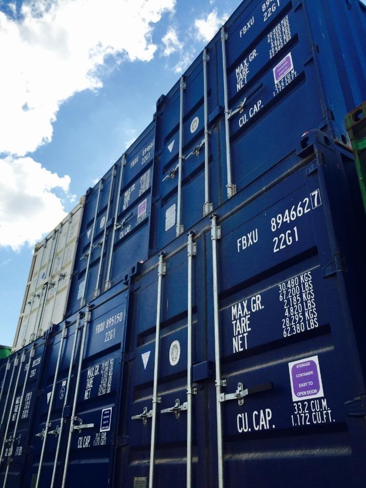 contenedores marítimos nuevos y usados