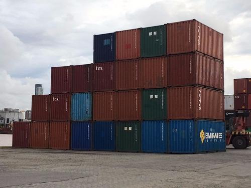 contenedores maritimos obrador container deposito 20 bs. as.