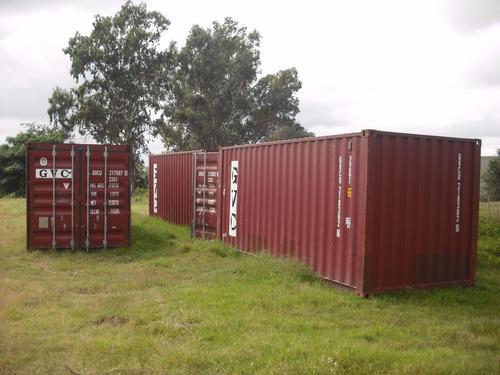 contenedores maritimos obrador nacionalizado 40 san juan