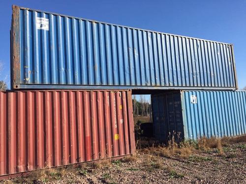 contenedores maritimos obradores 40' containers usados.
