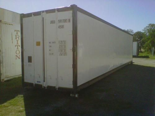 contenedores marítimos refrigerado reefer cámara frío 20/40