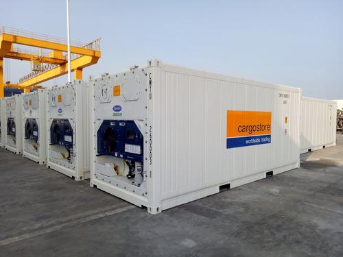 contenedores marítimos refrigerado reefer cámara frío 40 pie