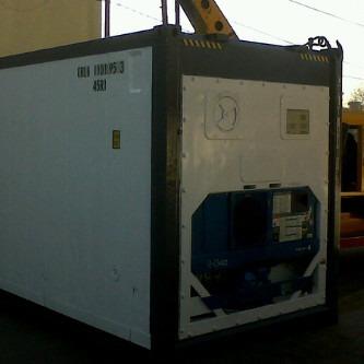 contenedores marítimos refrigerado reefer cámara frío 40pies