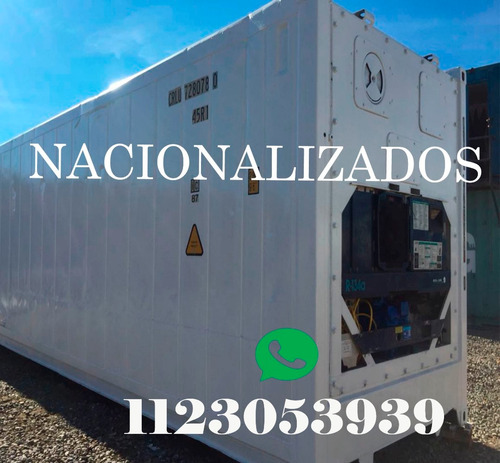 contenedores maritimos refrigerados reefers 40 la pampa