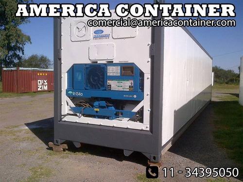 contenedores maritimos refrigerados reefers  financiación.