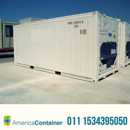 contenedores maritimos refrigerados reefers  financiación