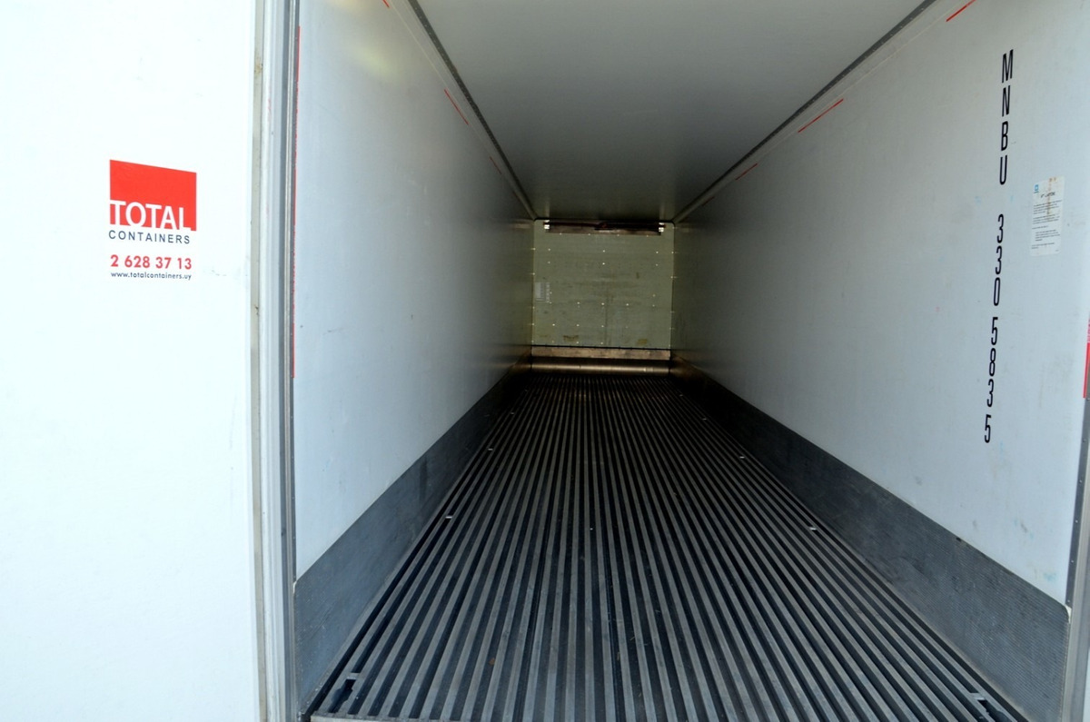 contenedores marítimos  refrigerados,  reefers usados vacios
