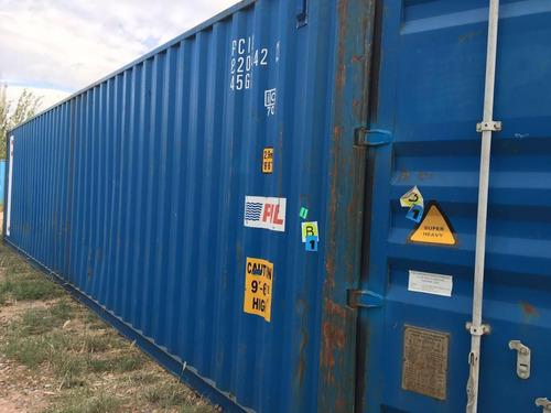 contenedores maritimos secos / containers 40 nacionalizados
