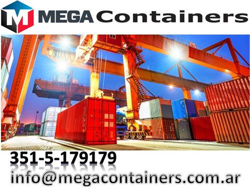 contenedores maritimos usados 20-40 containers secos cordoba