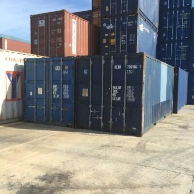 contenedores maritimos usados 20´ containers pilar.