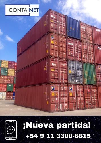 contenedores marítimos usados 20' san vicente containers